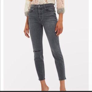 GRLFRND Karolina high-rise skinny jeans NWT
